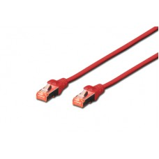 Digitus DK-1644 S/FTP patchcable 0,25 m. rood